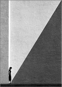 Approaching shadow, Fan HO.